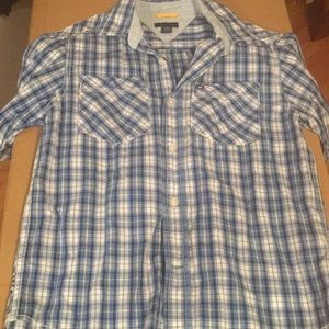 Boys collard button up shirt
